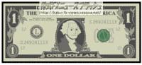 1ドル紙幣 1ドル札 1$