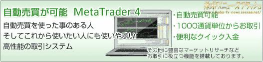 フォレックス・ドットコム FOREX.com メタトレーダー MetaTrader