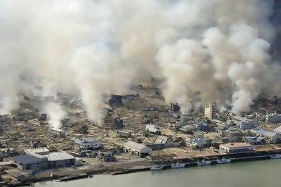 東日本大震災 震度7 マグニチュード9.0 震源地 地図 震度分布図 画像 津波 動画