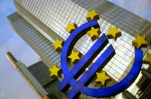 欧州中央銀行 おうしゅうちゅうおうぎんこう ECB(European Central Bank)