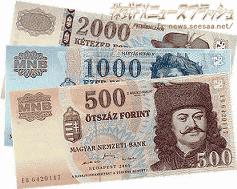 フォリント Forint HUF ハンガリー通貨