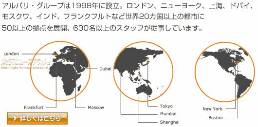 アルパリジャパン メタトレーダー MT4