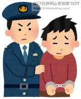 警察 男性 逮捕
