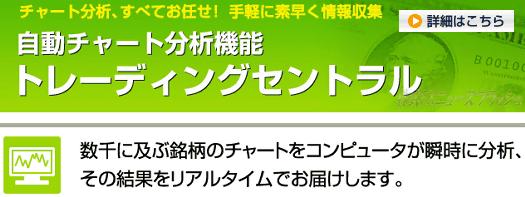 トレーディングセントラル Trading Central エフエックス・オンライン・ジャパン FX Online Japan