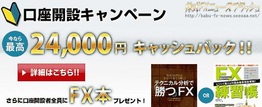FXプライム キャンペーン