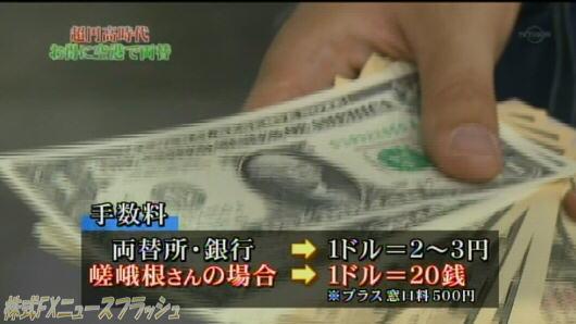 マネーパートナーズ 銀行 両替所 外貨両替 手数料 比較