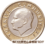 トルコリラ硬貨 TRY